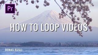 How to make LOOPING VIDEOS // Premiere Pro Tutorial screenshot 1