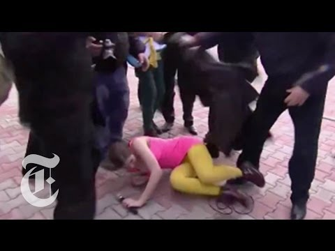 Pussy Riot and Their Supporters Assaulted | The New York Times