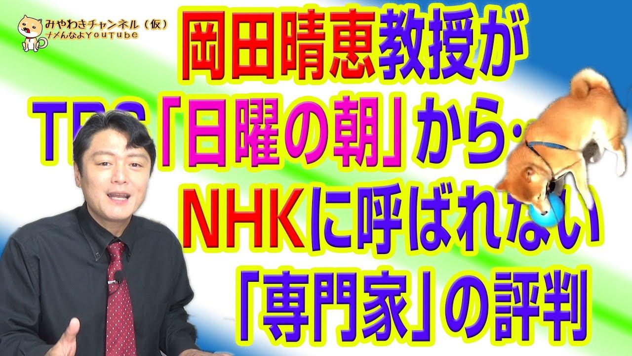 岡田晴恵評判