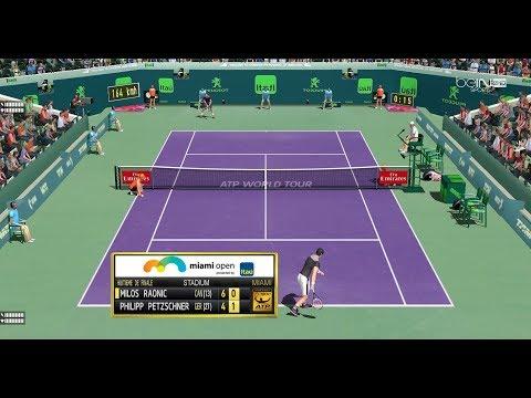 Raonic vs Petzschner    Huitième de Finale Masters 1000 Miami    Ép.90 Tennis Elbow 2013