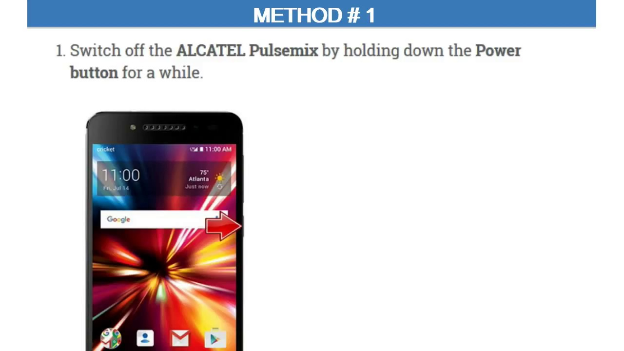 Alcatel Pulsemix Sync Videos - Waoweo