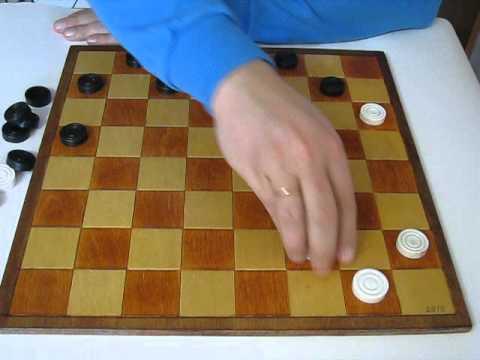 MVI 2481 Основы игры в шашки. Правила для начинающих. Как ходить, как бить.