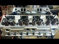 Engine Building Part 5 - Installing a Set of Edelbrock E Street Cylinder Heads Small Block Chevy 350