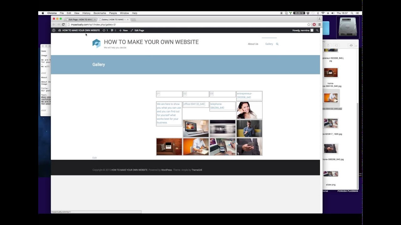 We created a site in Wix, Weebly, Squarespace & WordPress – See How