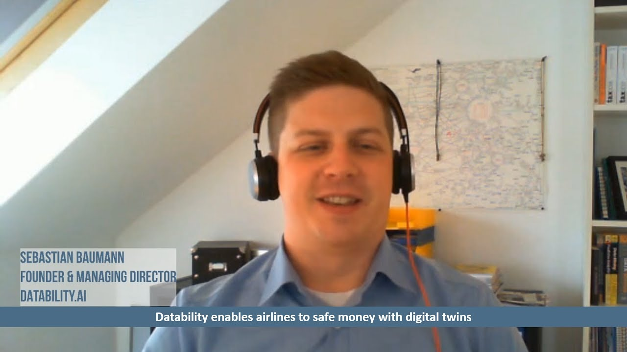 Datability enables airlines to safe money with digital twins