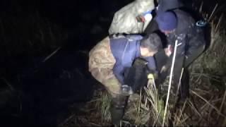 120 Büyükbaş Hayvan Bataklıkta Mahsur Kaldı
