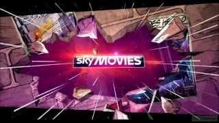 Sky Movies Superheroes HD UK NEW!!! Ident 2013 hd1080