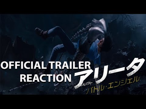 ALITA: BATTLE ANGEL JAPANESE TRAILER REACTION!!!