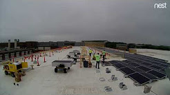 Madison College Solar PV Installation Time Lapse 061218