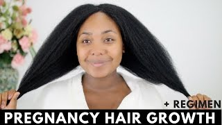 Pregnancy Hair Growth + Routine Update | Natural Hair