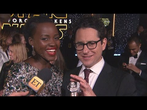 Lupita Nyong'o and Director J.J. Abrams Recall Their First 'Star Wars' Memories