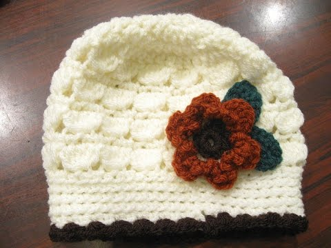 Cluster Stitch Beanie REVISED – Crochet Tutorial