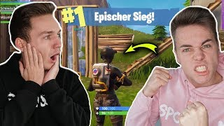 WITH NEW ELITEAGENTIN SKIN AND GLEITER WON ! 🏆 Fortnite Battle Royale (English) | Schimis