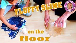 FLUFFY FLOOR SLIME | SCHLEIM SAUEREI AUF DEM FUßBODEN | MILEYS WELT