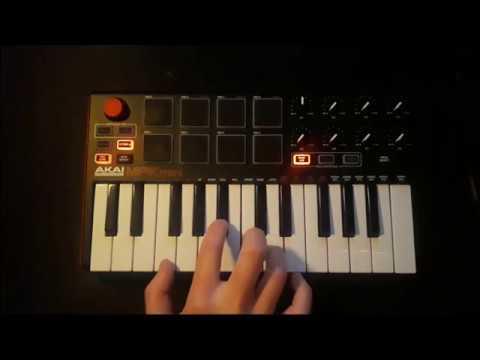 Akai mpk mini - Live looping with FL Studio #3