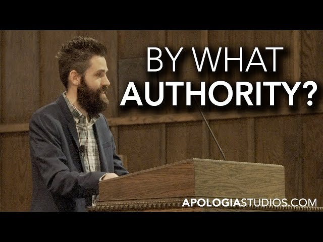 Sermon: By What Authority?