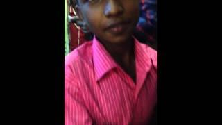 Boy from Bangladesh says