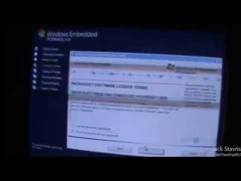 Windows Embedded POSReady 2009 Installation & Tour