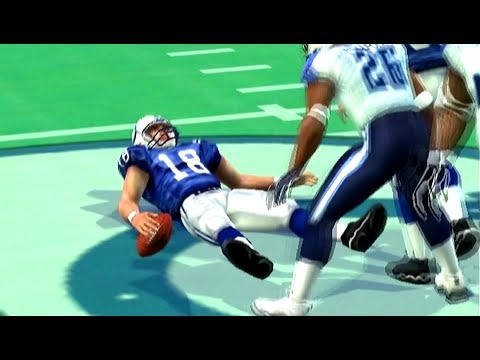 Titans vs Colts Week 12 Madden 2005 Franchise Xbox OG Peyton Manning Shut Down, McNair Dominates