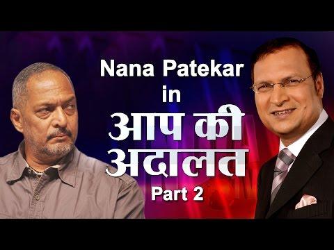 Nana Patekar in Aap Ki Adalat (Part 2) - India TV