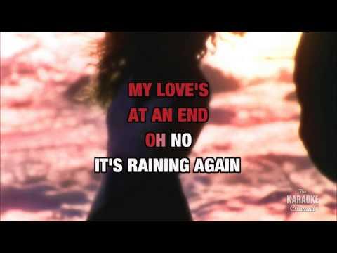 It's Raining Again in the style of Supertramp | Karaoke with Lyrics