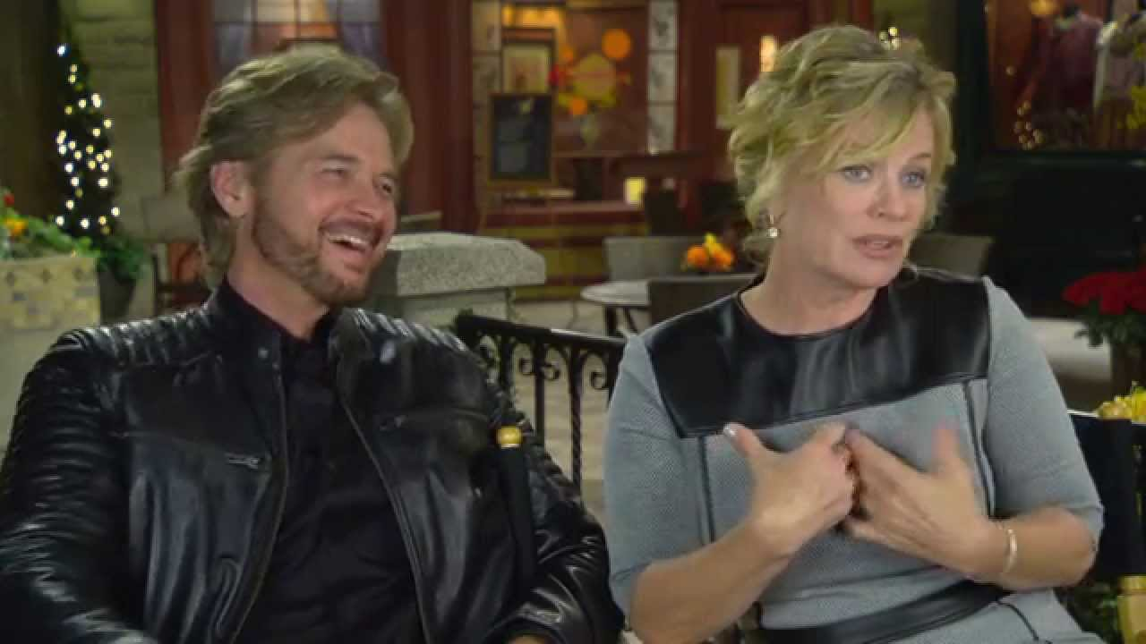 Days Of Our Lives 50th Anniversary Interview Stephen Nichols Mary Beth Evans Youtube