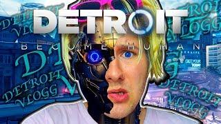 JEG ER EN ANDROIDE I DETROIT!? - Detroit vlogg