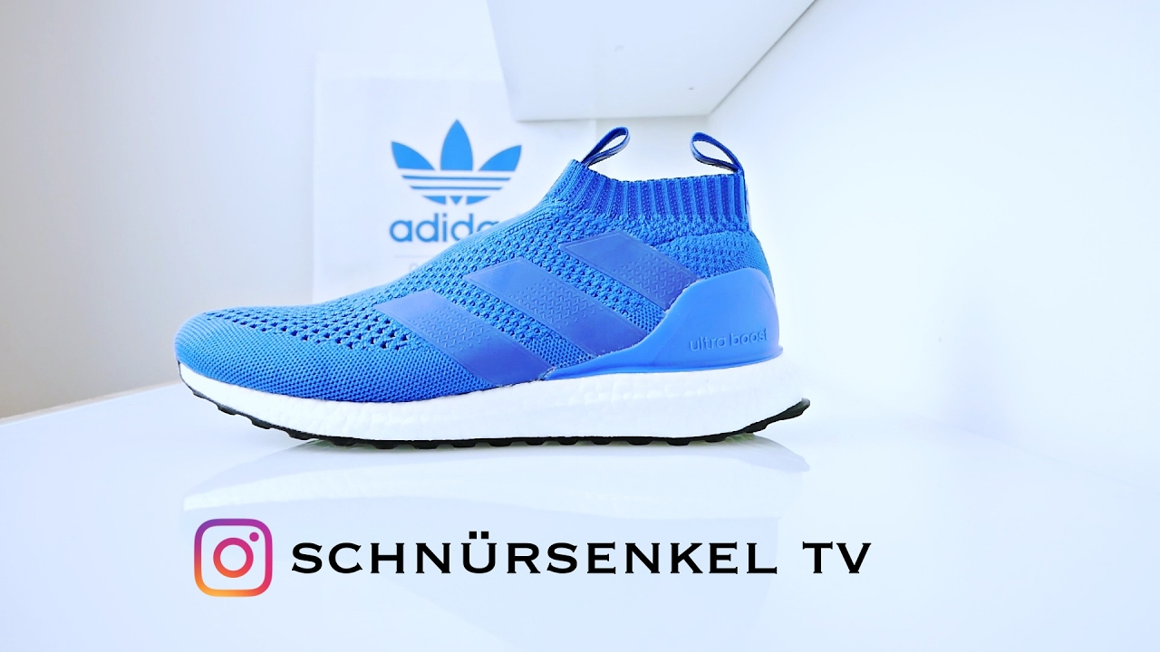 dd4a95f11fc4d adidas ACE PURECONTROL ULTRA BOOST 1 OF 500 limited edition 16 review  unboxing on feet video deutsch