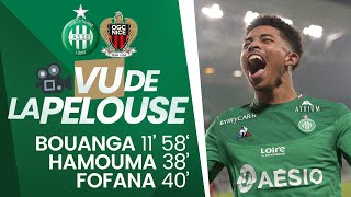 VIDEO: ASSE 4-1 Nice : Vu de la pelouse