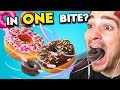 Eat In One Bite Challenge | Tacos, Burritos People Vs Food