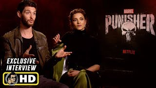 Ben Barnes and Amber Rose Revah Exclusive Interview for The Punisher Season 2