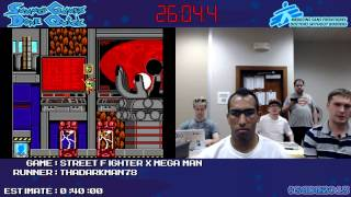 Street Fighter X Mega Man - SPEED RUN (0:32:43.8) *Live at SGDQ 2013*