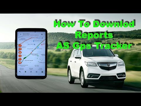 As Gps Tracker Download Reports