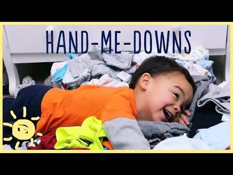 TIPS |  Giving & Organizing HAND-ME-DOWNS