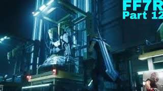 Let's play Final Fantasy VII Remake part 12: Attack on Reactor No. 5
