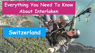 Interlaken | Most Famous Swiss Town In Indians | Part 4 | Th...