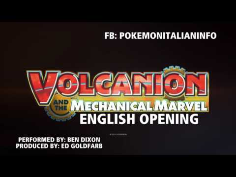 Pokémon Volcanion and the Mechanical Marvel  Full English Opening Stand Tall HD STEREO