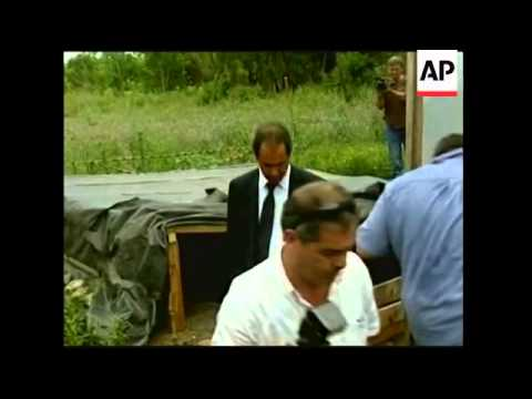 Human remains discovered in fmr secret detention centre for dissidents