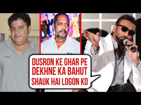 Jackie Shroff's BEST REPLY On Nana Patekar And Sajid Khan's Sexual Harassment | Me Too