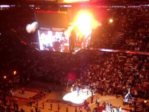 Cleveland Cavaliers 2009 2010 season team introduction NBA