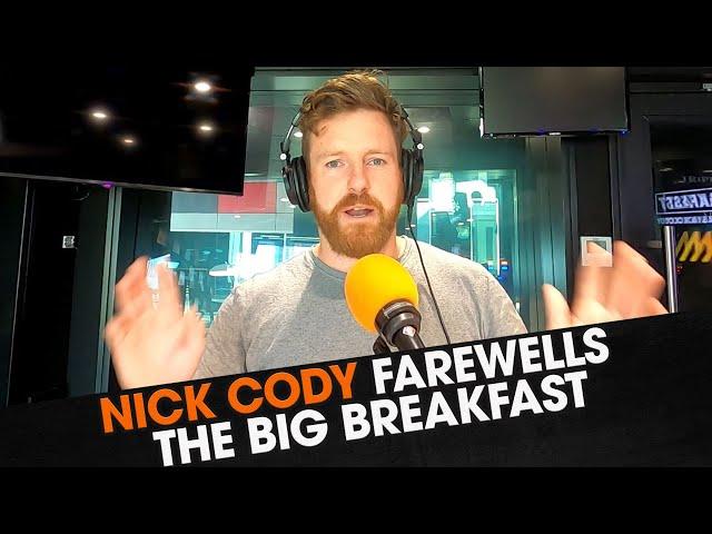 Nick Cody Farewells The Big Breakfast | Triple M Brisbane