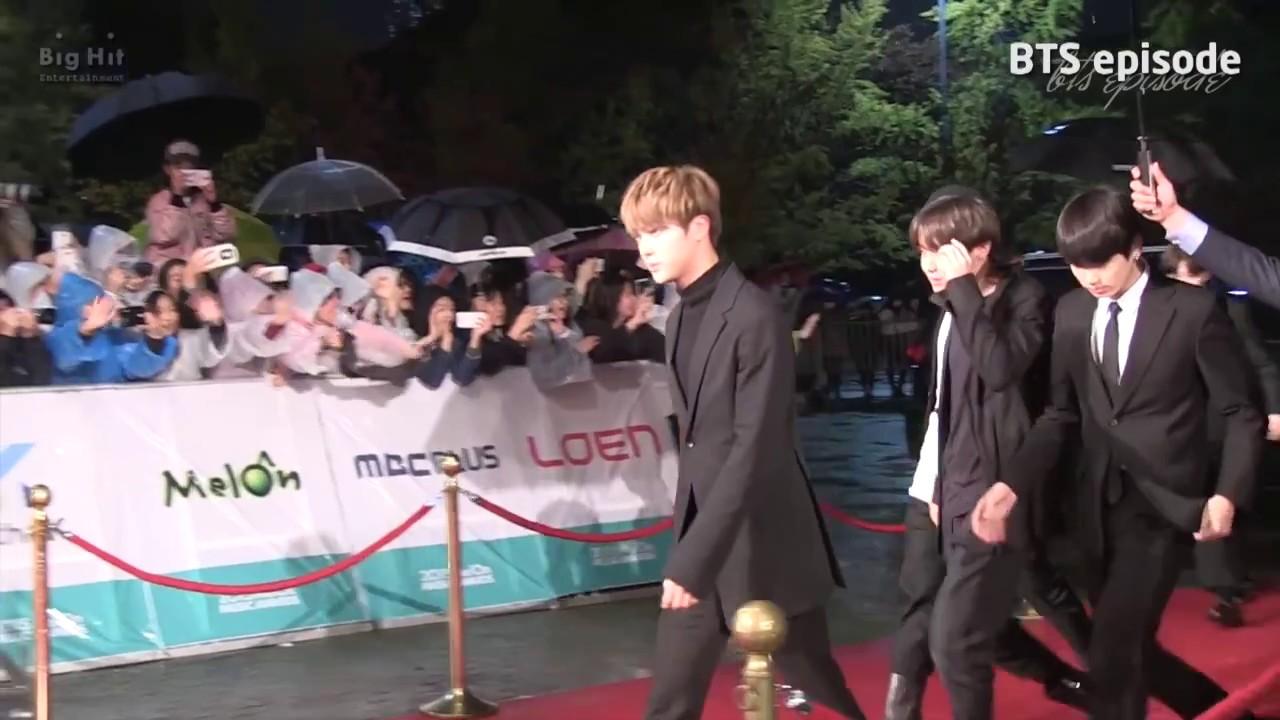 BTS Jin (car Door Guy) 방탄소년단 차문남 김석진 (MMA 2015)