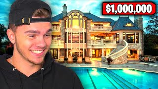 MY INSANE $1,000,000 HOUSE TOUR!