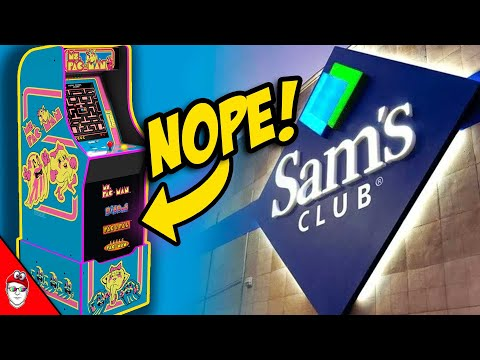 Arcade1Up - Ms. Pac-Man Sams Club is disappointing from Console Kits