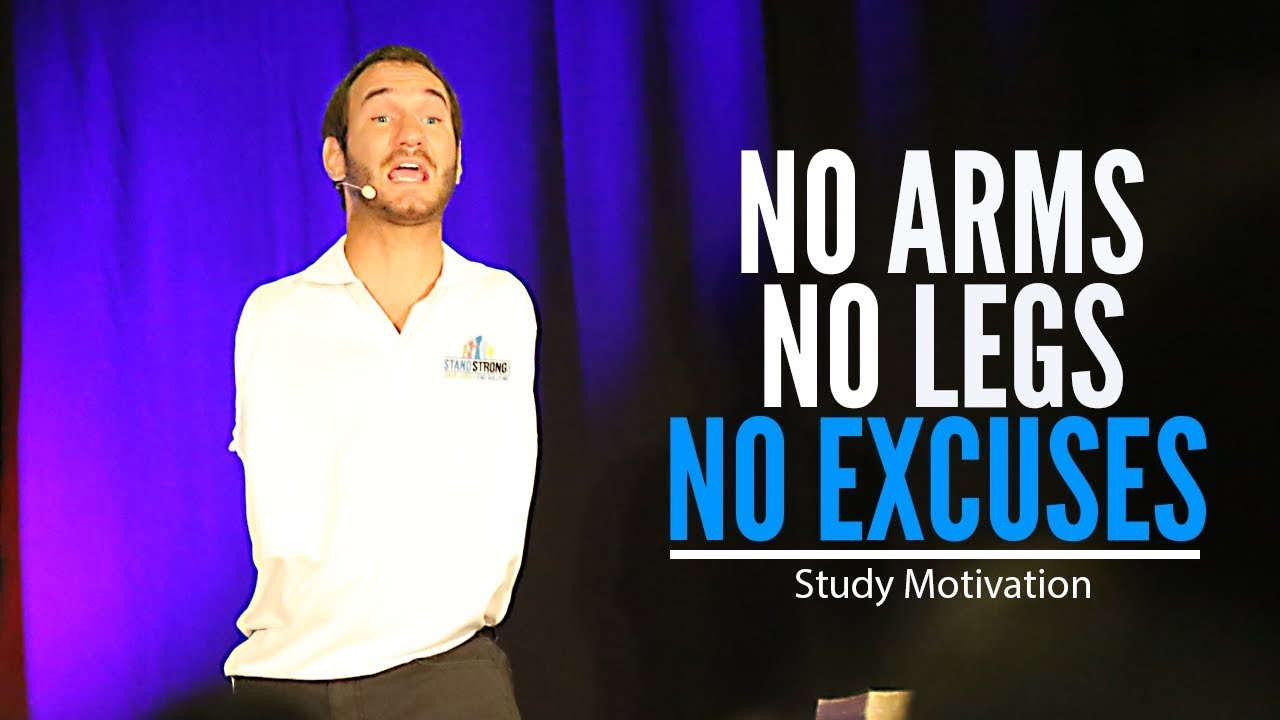 GIVE UP OR GET UP - Motivational Video for Students from the Man with No Arms OR Legs | Nick Vujicic