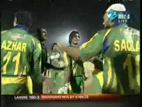 Fastest century record on ICL by Pak cricket
