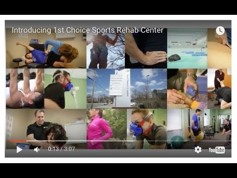 Introducing 1st Choice Sports Rehab Center