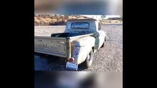 64 Chevy C20 Patina Resto Mod