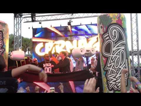 Benny Benassi Satisfaction RL Grime Remix in Miami 2014