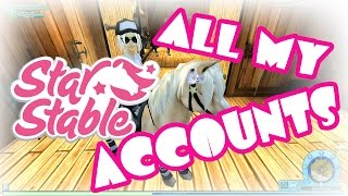 All my Star Stable Accounts